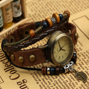 Vintage Wristwatch Bracelet - Steampunk Artifacts