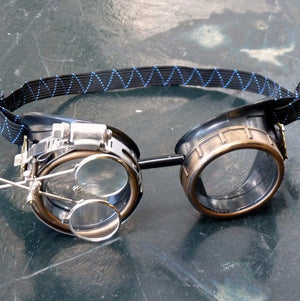 Transparent Steampunk Goggles - Steampunk Artifacts