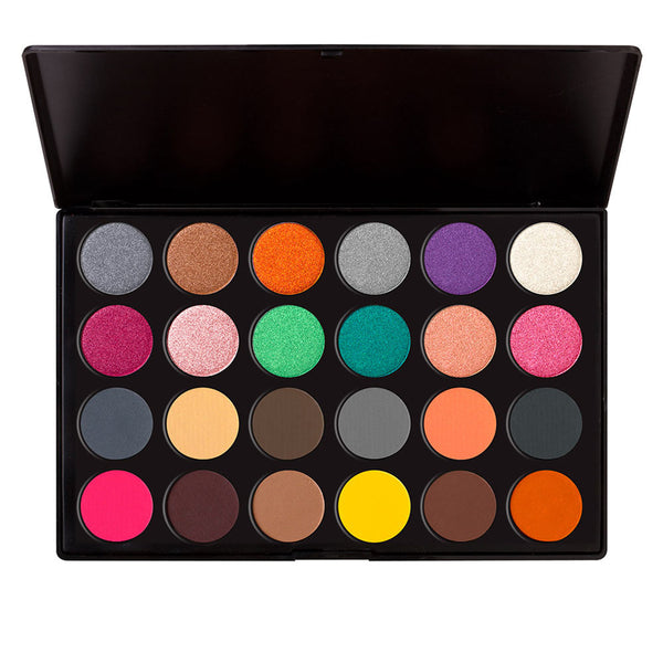 24 Eyeshadow Palette 12 Matte + 12 Shimmer (Hollywood)