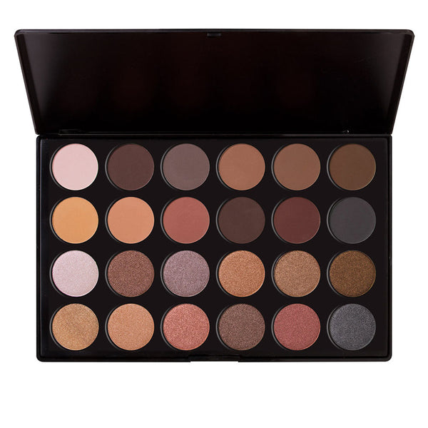 24 Eyeshadow Palette 12 Matte + 12 Shimmer (Downtown LA)