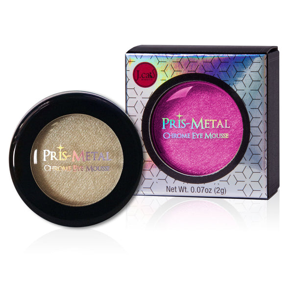 Pris-Metal Chrome Eye Mousse (Berry Cool)
