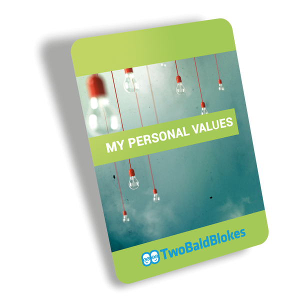 Use this pack as a learning experience to assess and re-discover your values.