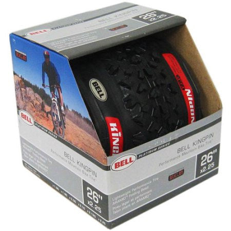 Bell Kingpin 26'' Mountain Bike Tire With Kevlar Fiber