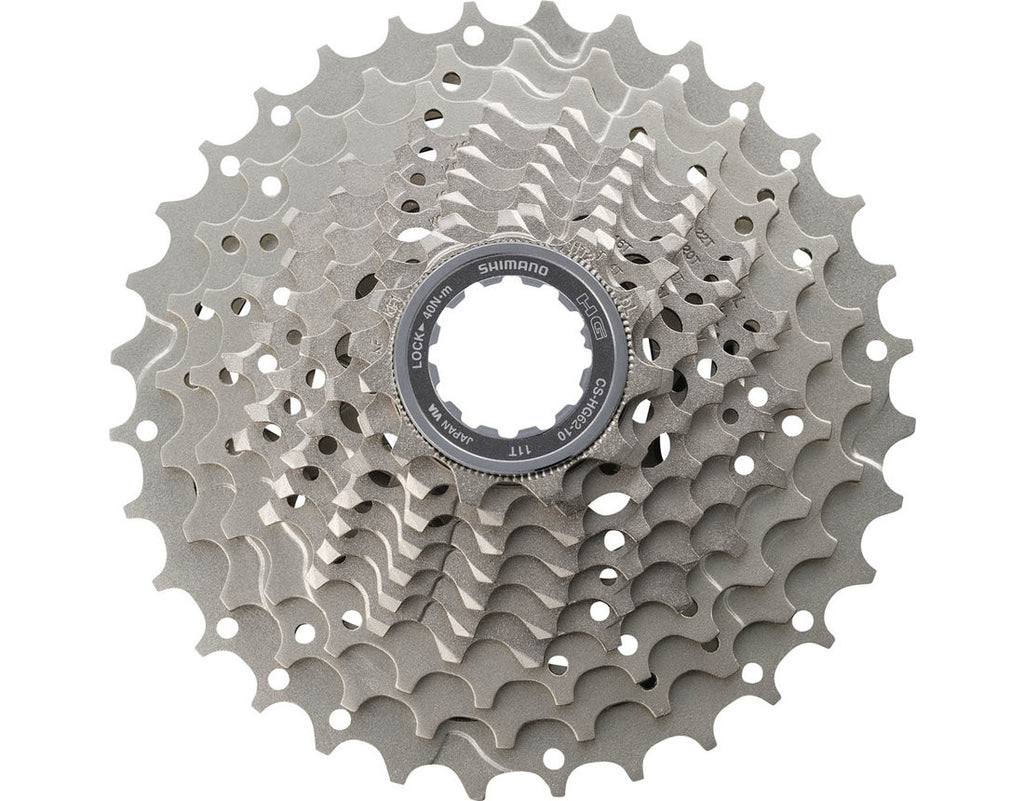 Shimano Casette Sprocket CS-HG62-10 10-Speed 11-32t (Chrome)