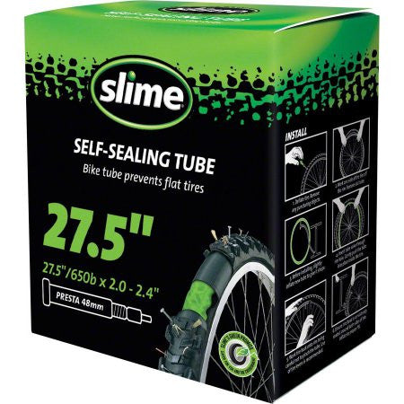 Slime Self-Sealing Tube 27.5''x2.0-2.4'', 48mm Presta Valve