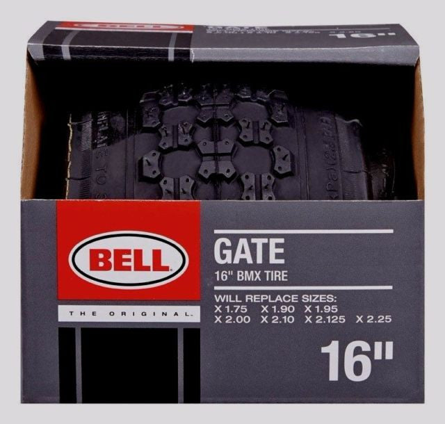 Bell Gate 16'' BMX Bike Tire With Kevlar Fiber