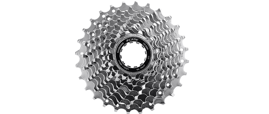 Shimano 105 Casette Sprocket CS-5800 11-Speed 11-28t (Chrome)