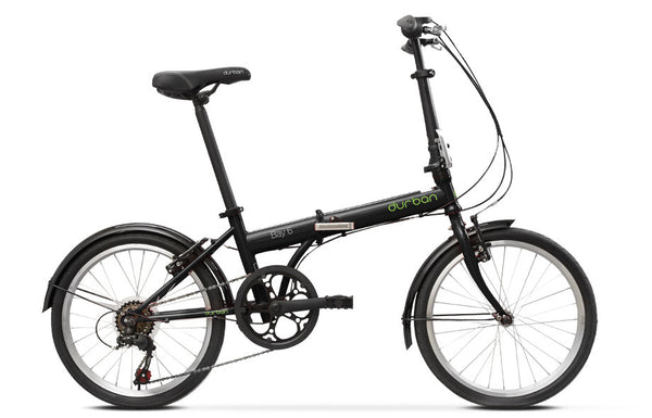 Durban Bay 6 Folding Bike (Black)