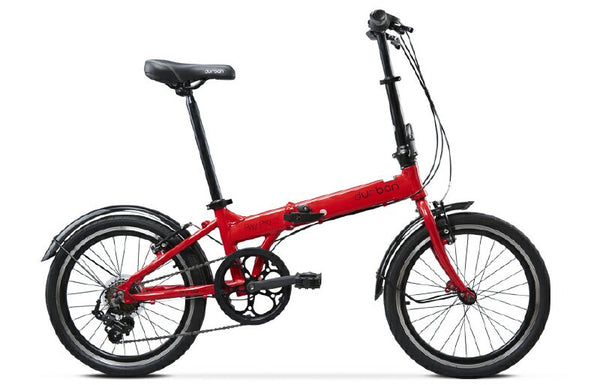 Durban Bay Pro Folding Bike (Red)