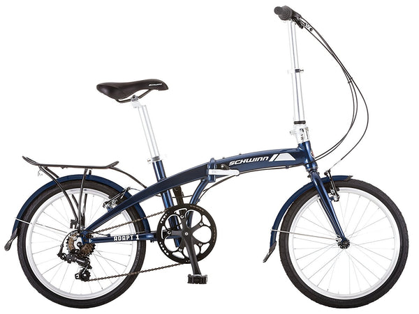Schwinn Adapt One Folding Bike (Navy Blue)