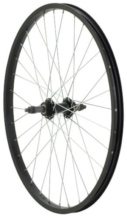 "Avenir 34-27-421 24""x1.5"" Rear Wheel (Black)"