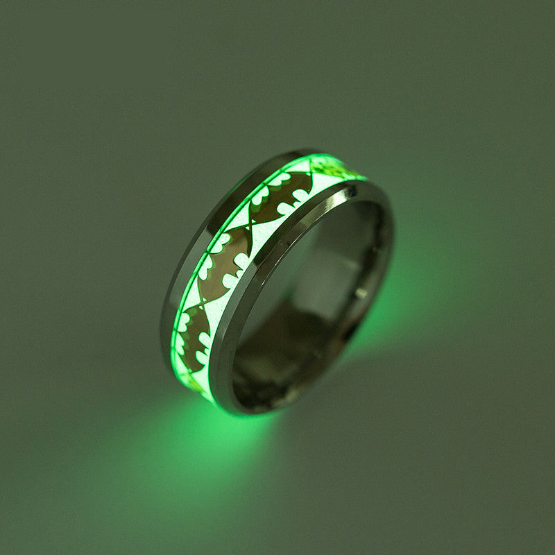 Batman Glow In The Dark Ring