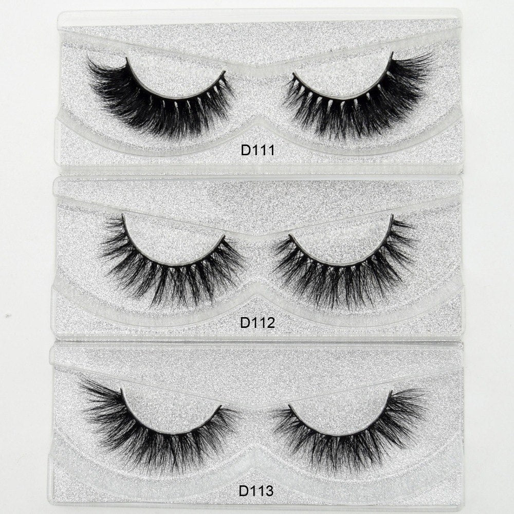 Self Adhesive 3D Eyelashes