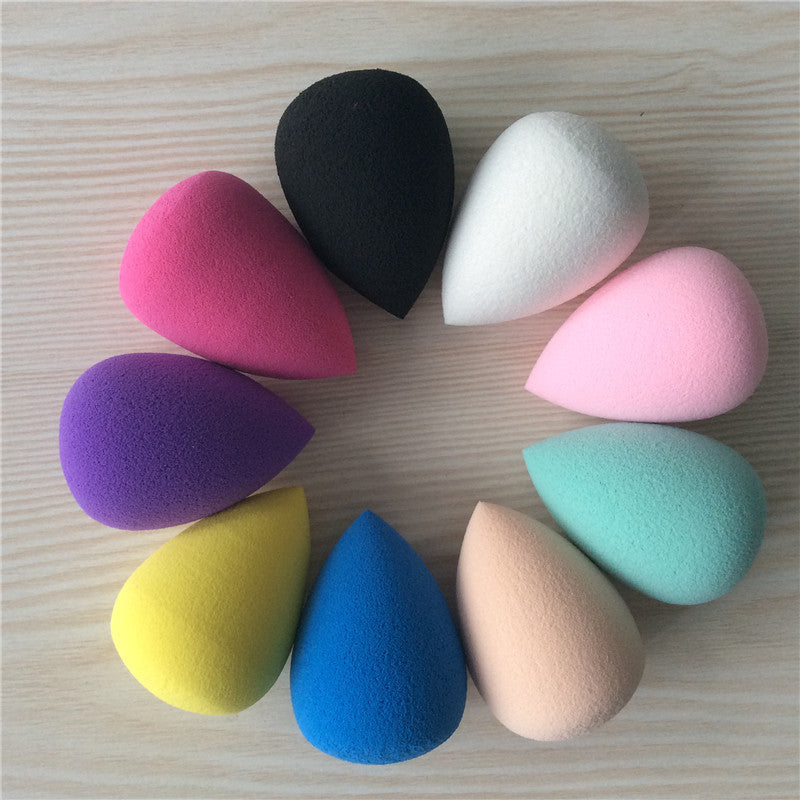 8Pcs Beautiful Water-Drop Shape Cosmetic Puff