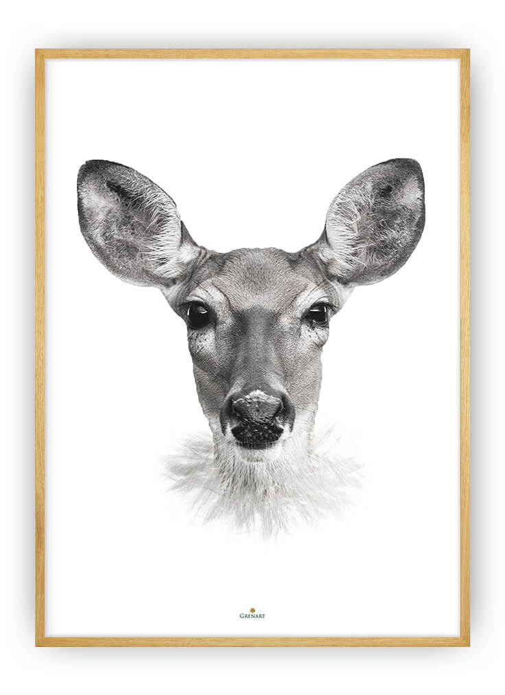 DEER LADY PLAKAT