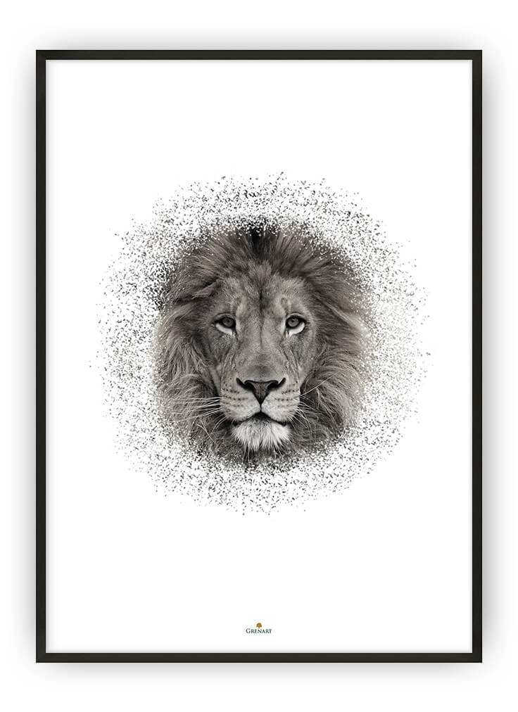 THE LION PLAKAT