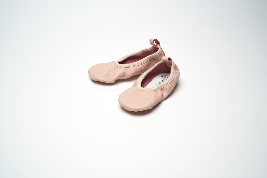 Powder Pink Classic Ballet Shoes