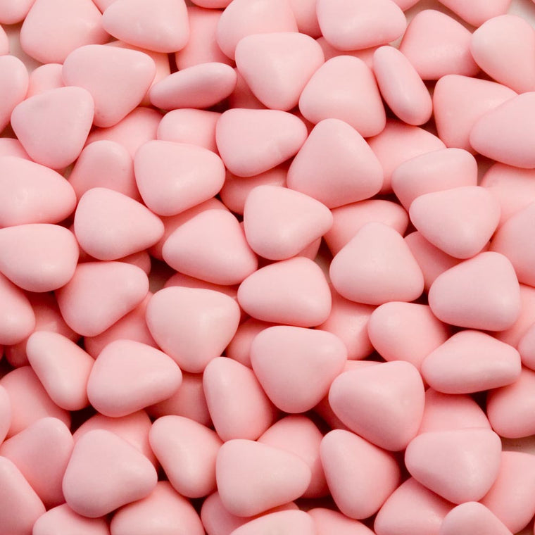 Mini Heart Chocolate Dragees
