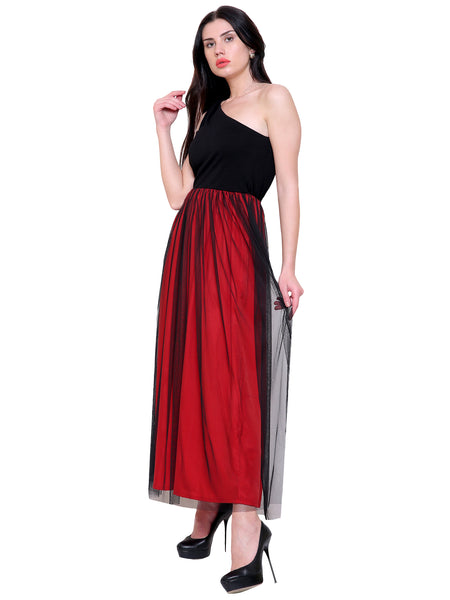 Lola One Shoulder Maxi Dress