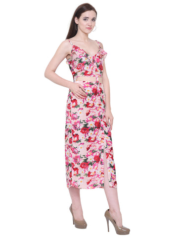 Sandra Floral Summer Maxi Dress