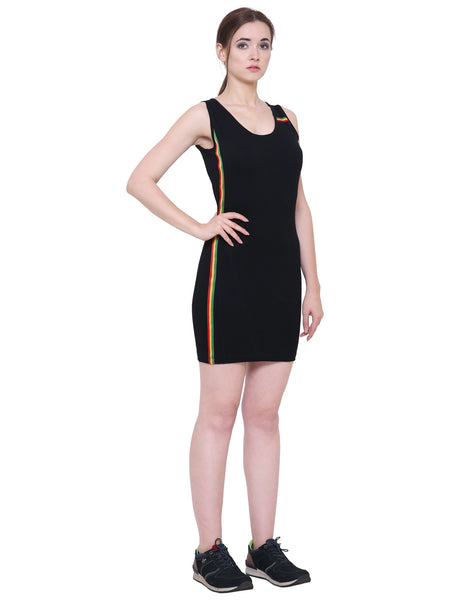 Black Rastafarian Mini Dress