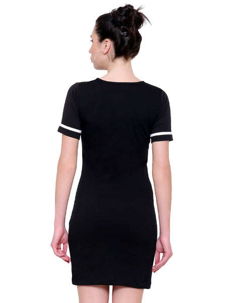Eileen Monochrome Mini T Dress