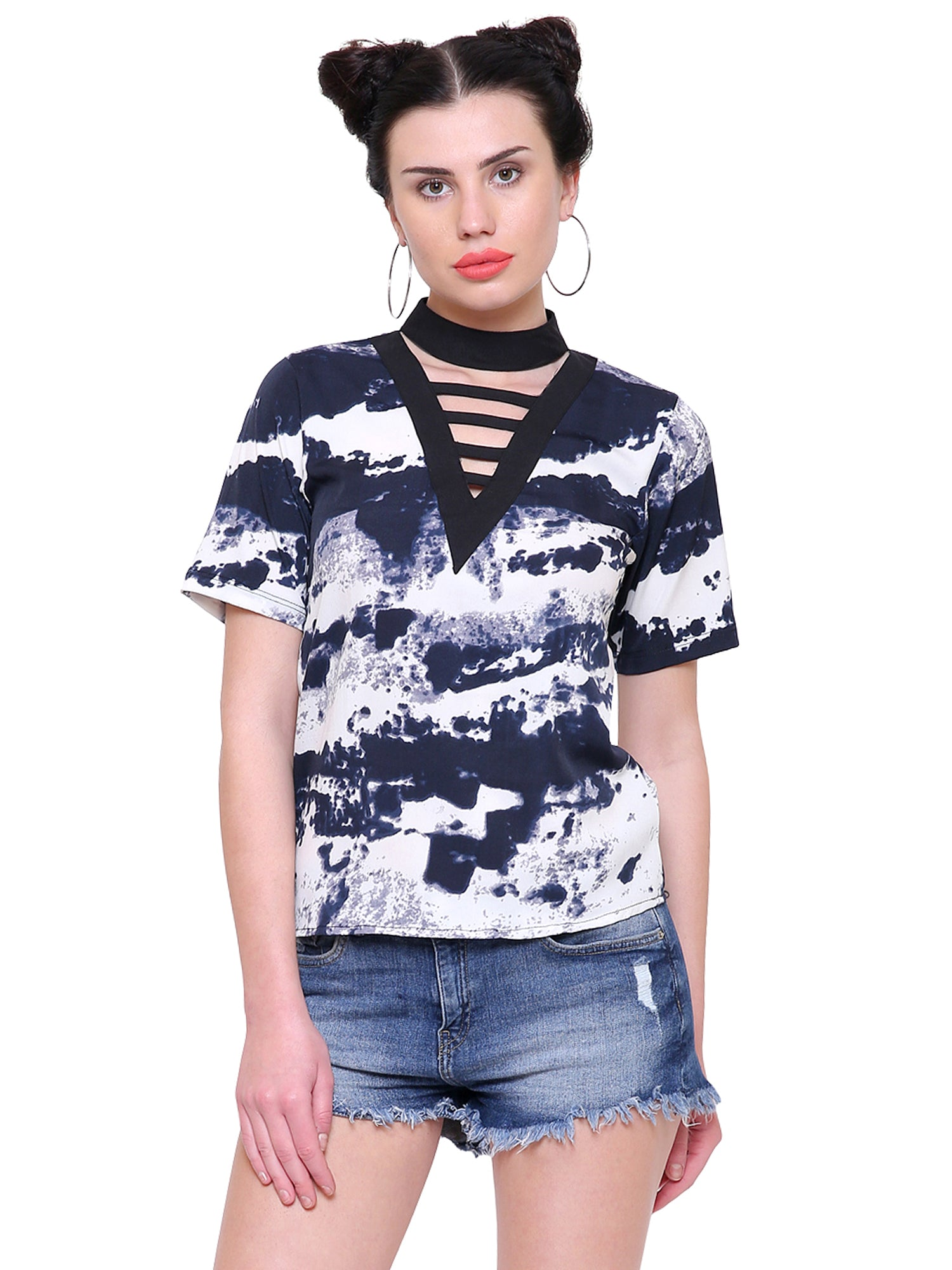 Inna Cage-Choker Detail  Top