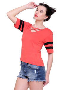 Karen Red Strap Top