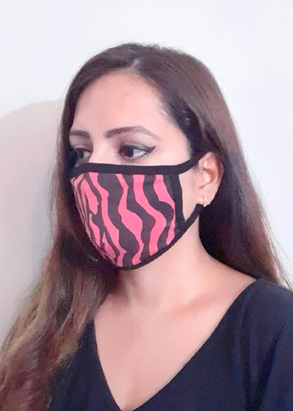 Animal Print Unisex Social Distancing Mask (Set of 3)