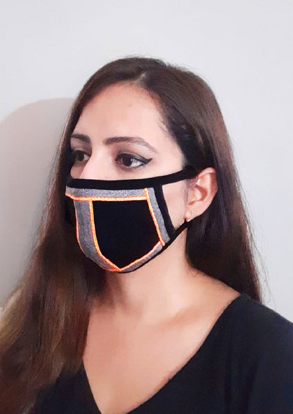 Set of 4 Trendy Designer Social Distancing Face Mask