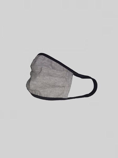 Minimalistic Grey Unisex Social Distancing Mask (Set of 3)