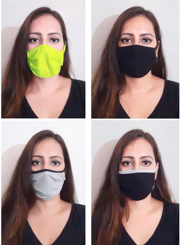 Set of 4 Marzeni Basic Social Distancing Face Mask