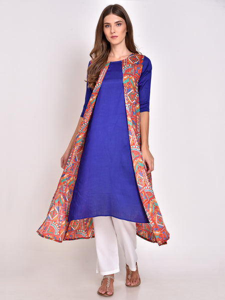 Layered Kurta with Jacket