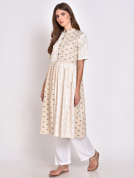Printed Flared Kurta
