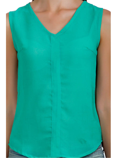 Mint Solid Top