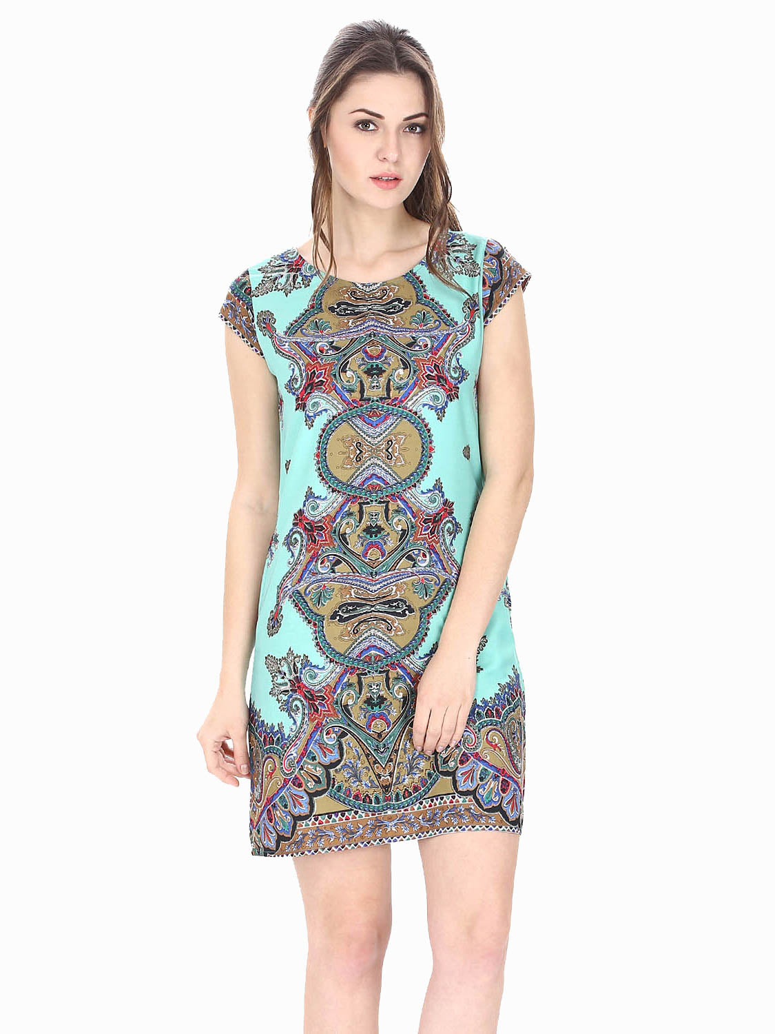 Print You Trendy Dress