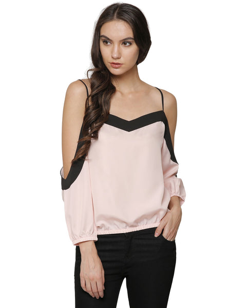 Izabel Cold Shoulder Top