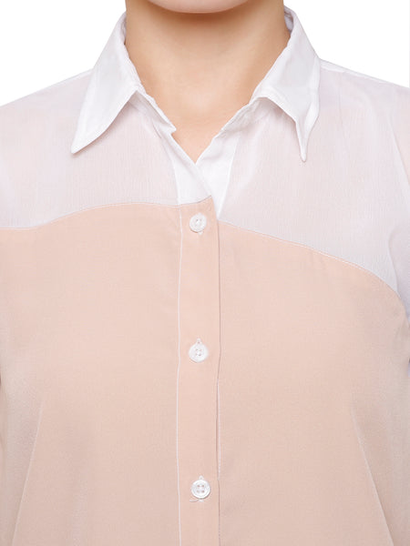 Sheer To Play Casual Shirt