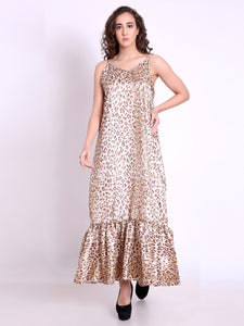 Brooke Leopard Maxi Dress