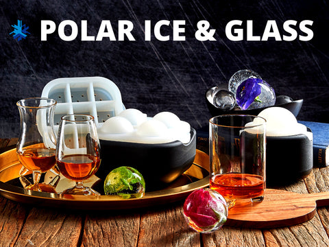 Ice Tray + Glass Set