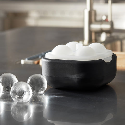 Polar Ice Ball 2.0 - 4 Crystal Clear Ice Balls (4.5cm Dia.)