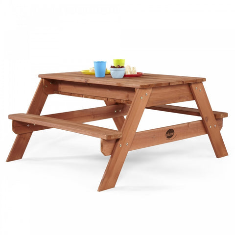 ... Plum Surfside Sand And Water Wooden Picnic Table   Grand Gardens ...