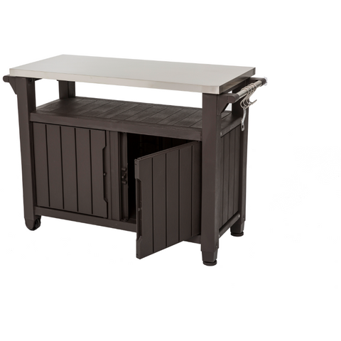Norfolk Leisure Unity Double BBQ Table - Grand Gardens