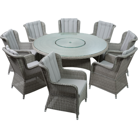 Norfolk Leisure Life King 8 Seater Rattan Set