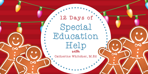 12 Days of Special Education Help: Giveaways and Super Sales!