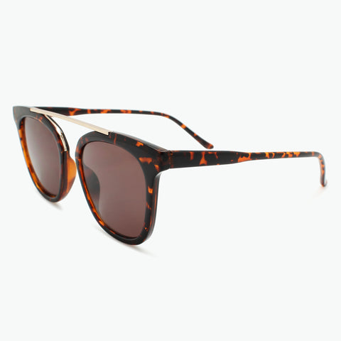 Floating Bridge Fashion Sun Readers l Fully Magnified Tinted Lenses R-609S