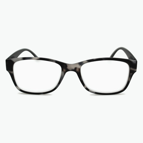 Sleek Rectangle Shape Reading Glasses for Men l Fully Magnified Lenses R-628