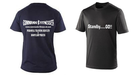 Commando Fitness T-shirt