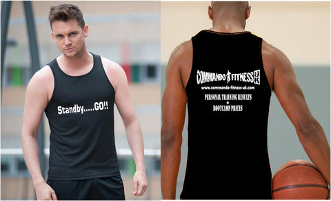 Commando Fitness Vest - Mens