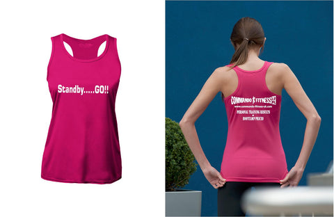 Commando Fitness Vest - Womans